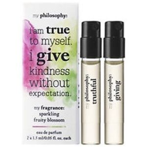 Philosophy Other - Philosophy Fragrance Truthful Giving duo set