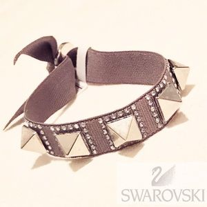 NWT Swarovski Adjustable Spiked Bracelet