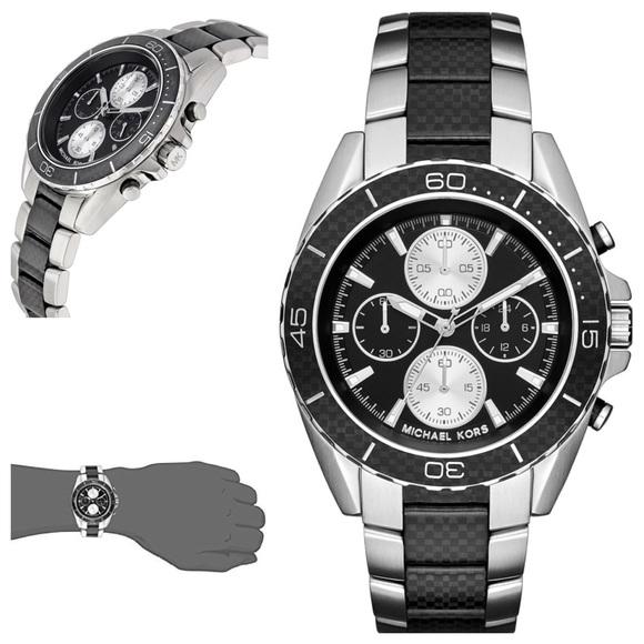8ae8c4428610 Men s Michael Kors JetMaster Chronograph Watch