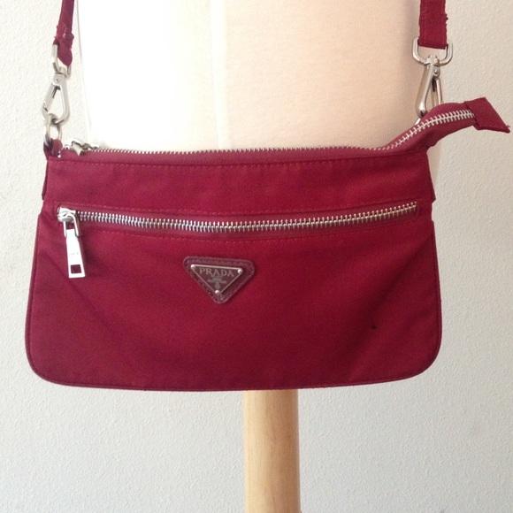 a8e2e2436fa70e Prada Bags | Sale Nylon Crossbody Bag | Poshmark