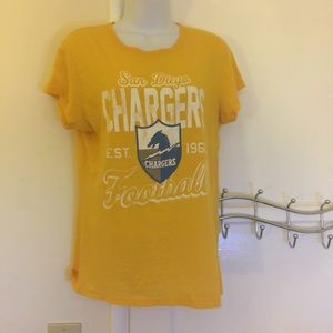 Junk Food Clothing Tops - San Diego Chargers t-shirt