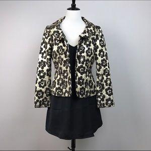 Moschino Jackets & Blazers - Moschino gold and brown blazer