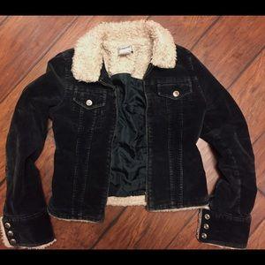 SOLD 🦄 Black Corduroy Jacket