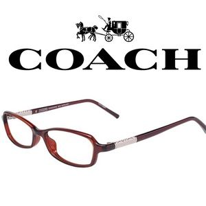 Coach Accessories - COACH Georgeanne (623) Burgundy 49/15 135 Eyeglass