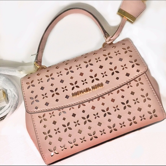 Michael Kors  NWT Ava Laser Cut XS Mini Crossbody Boutique 7fe8f49f2ab6c