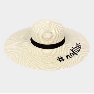 """""""#NoFilter"""" Floppy Hat"""