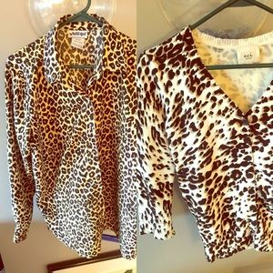 ECI Tops - Earn your spots, leopard and cheetah print tops