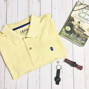 Izod Other - IZOD Yellow Men's Polo Shirt