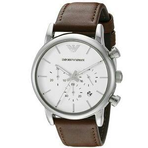 emporio Armani  Other - NWT Emporio Armani Chronograph White Dial watch