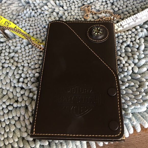 harley trifold map id holder