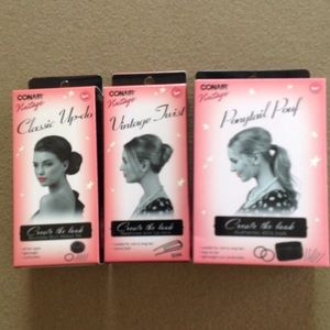 Conair Accessories - JUST IN⭐️Bundle of Vintage Style hair clips. NEW!