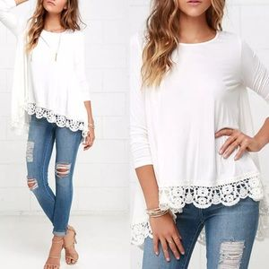 Tops - The Brittany Spears cotton lace top