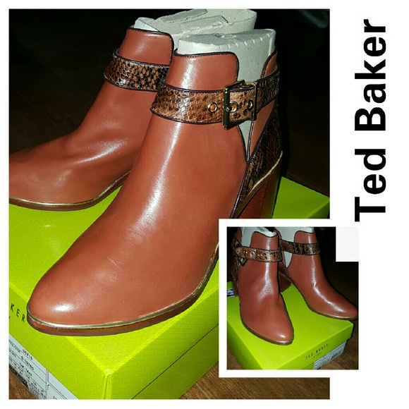 bf77260c8ae9 NWB Ted Baker Nissie Ankle boots 10