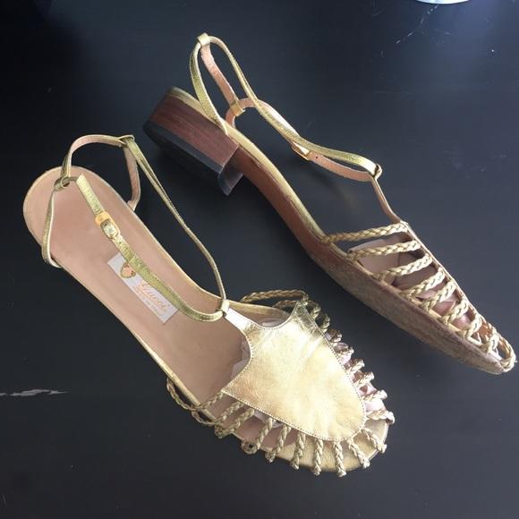 55f84c1f3 Gucci Shoes | Authentic Vintage Sandals | Poshmark