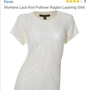 Fever London Tops - Fever white shirt
