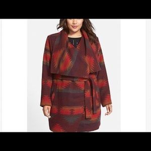 Steve Madden Jackets & Blazers - HOST PICK! 3X NWT Steve Madden Blanket Coat Indian