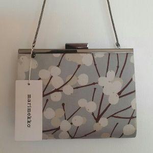 Marimekko Handbags - Marimekko Soiree Lumimarja Clutch NWT