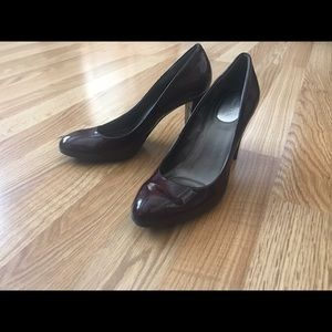 Burgundy Calvin Klein pumps