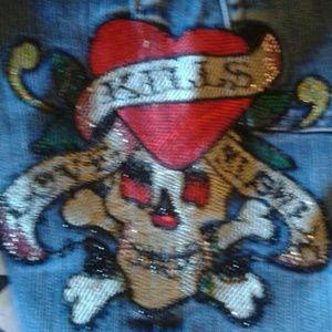 Ed Hardy Denim - 💀 Ed Hardy skull jeans 👖