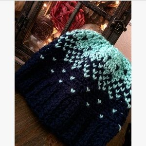 Crystal Creations Accessories - Crochet beanie