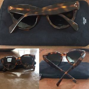 db5f69c7bbcbd Celine Accessories - CÉLINE Sunglasses CL 41049 S Thin Preppy 05L XM