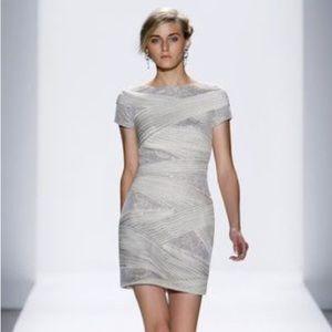 Tadashi Shoji Dresses & Skirts - Tadashi Shoji Sequin Overlay Dress Column
