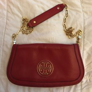 Tory Burch Handbags - Price Firm Auth. Tory Burch clutch/shoulder bag