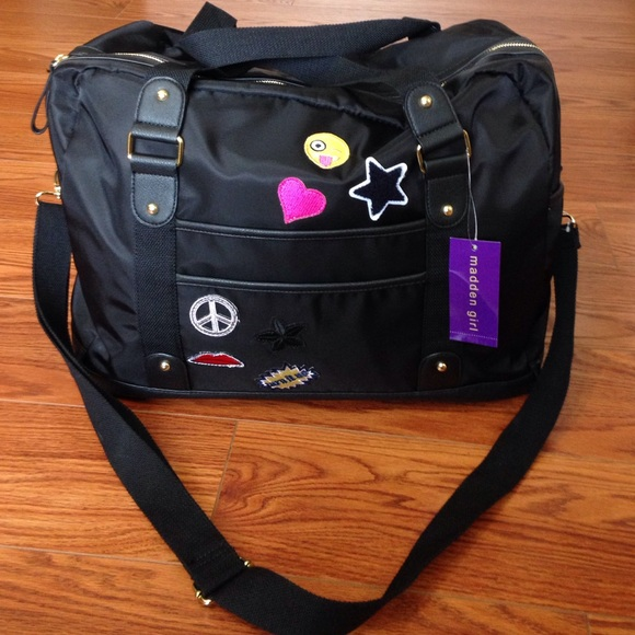 0950ce708682 Madden Girl Duffle Bag