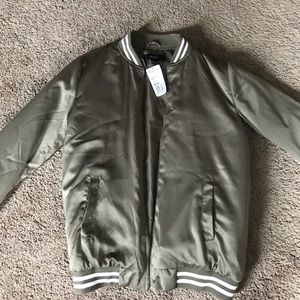 Army green bomber