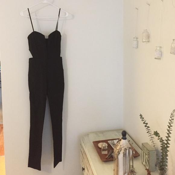 3955d745d74 NASTY GAL Gorgeous slim fit black jumpsuit