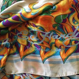 Ed Hardy 100% silk scarf