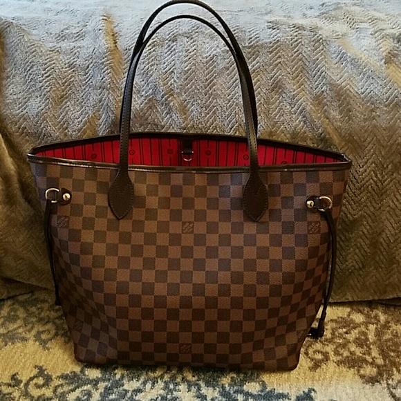 Louis Vuitton Handbags - LV Neverfull MM Damier Ebene d1e2692d1b2d3