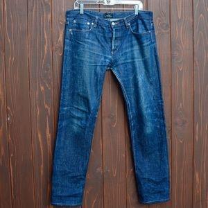 A.P.C. Other - A.P.C. Mens slim selvedge denim jeans.