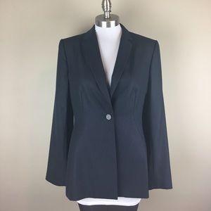 Saks Fifth Avenue Jackets & Blazers - Saks Off 5th Navy Pinstripe Blazer