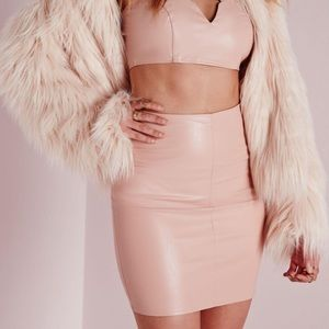 Missguided - Pink Patent Leather Skirt from Julissa's closet on ...