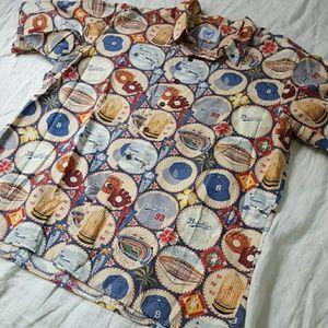 f56b4f52 Reyn Spooner Shirts - Reyn Spooner Dodgers Hawaiian Shirt XXL