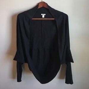 DKNY Sweaters - DKNY Black Shrug