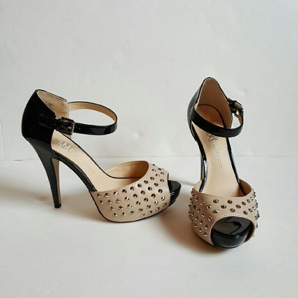 bd5f0bb9e93f Rock Republic Studded Heels. M 587fbaa8c6c795b8f903368e