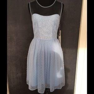 Rodarte for Target Blue Dot Lace Tulle Dress Sz 5