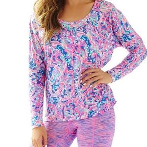 Lilly Pulitzer Luxletic T-Shirt
