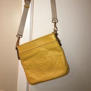 Yellow-orange Lauren Ralph Lauren satchel