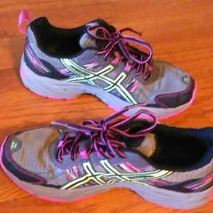 womens asics tennis shoes 8.5