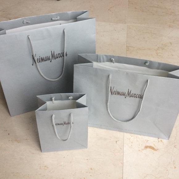 3 Neiman Marcus Shopping Bags