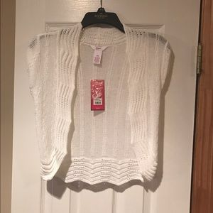 Candie's Other - NWT - White Sweater Cardigan