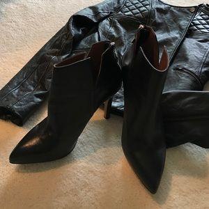 Corso Como Shoes - Corso Como Leather Booties