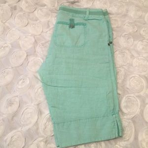 Michael Stars Pants - NWT Linen Shorts