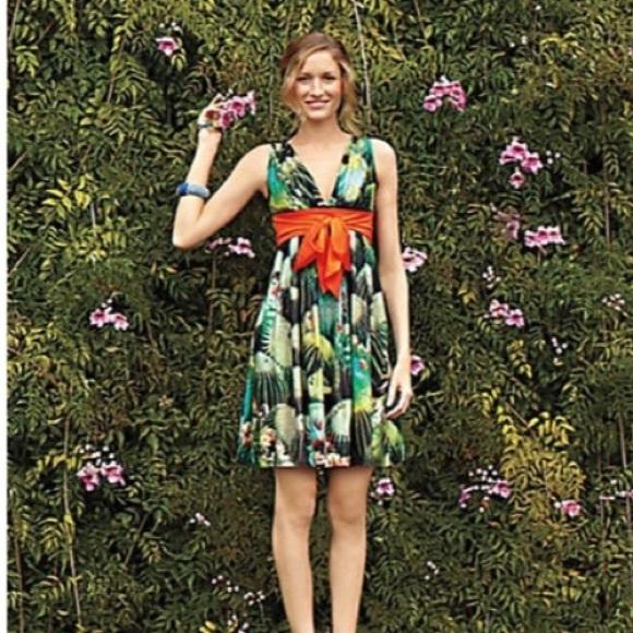 12e439dedba2 Anthropologie Dresses & Skirts - Anthropologie Eva Franco Oroya Cactus  Dress ...