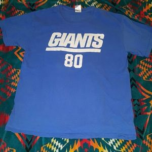 Junk Food Clothing Other - NY GIANTS NFL LARGE CRUZ 80 JERSEY T VINTAGE