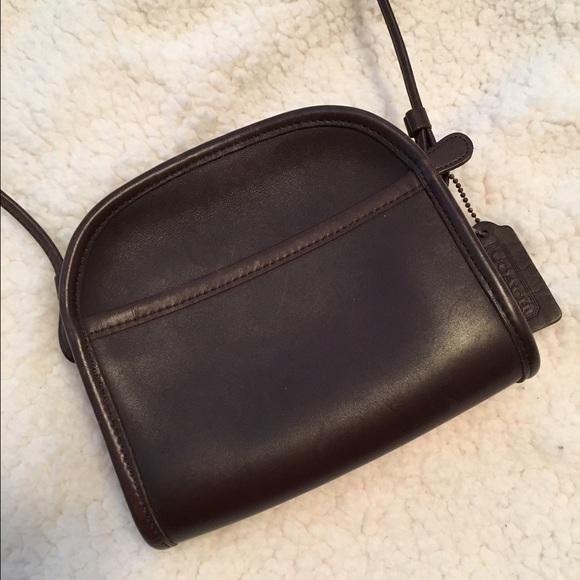 11221b91c33 Coach Bags   Vintage Leather Crossbody Bag   Poshmark
