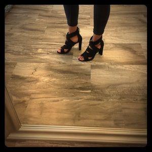 Zara black heels size 40